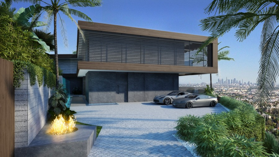 Stanley house los angeles 3d for Los angeles buy house