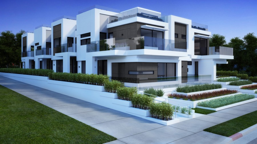 Residental Houses Santa Monica, Los Angeles