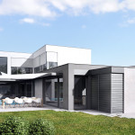 House Ujezd nad Lesy, CZ, 3d visualisation