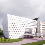 Hospital IKEM, Prague, 3d visualisation