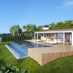 Malibu House, Los Angeles, 3d visualisation