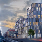 Office House Karlin, Prague, 3d visualisation