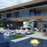 Stanley House, Los Angeles, 3d visualisation