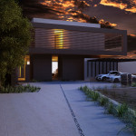 Belzberg House, Los Angeles, 3d visualisation