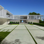 Beverly Park House, Los Angeles, 3d visualisation