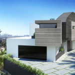 Curson House, Los Angeles, 3d visualisation