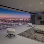 Modern Interiors, LA, 3d visualisation