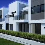 Residental Houses Santa Monica, Los Angeles, 3d visualisation