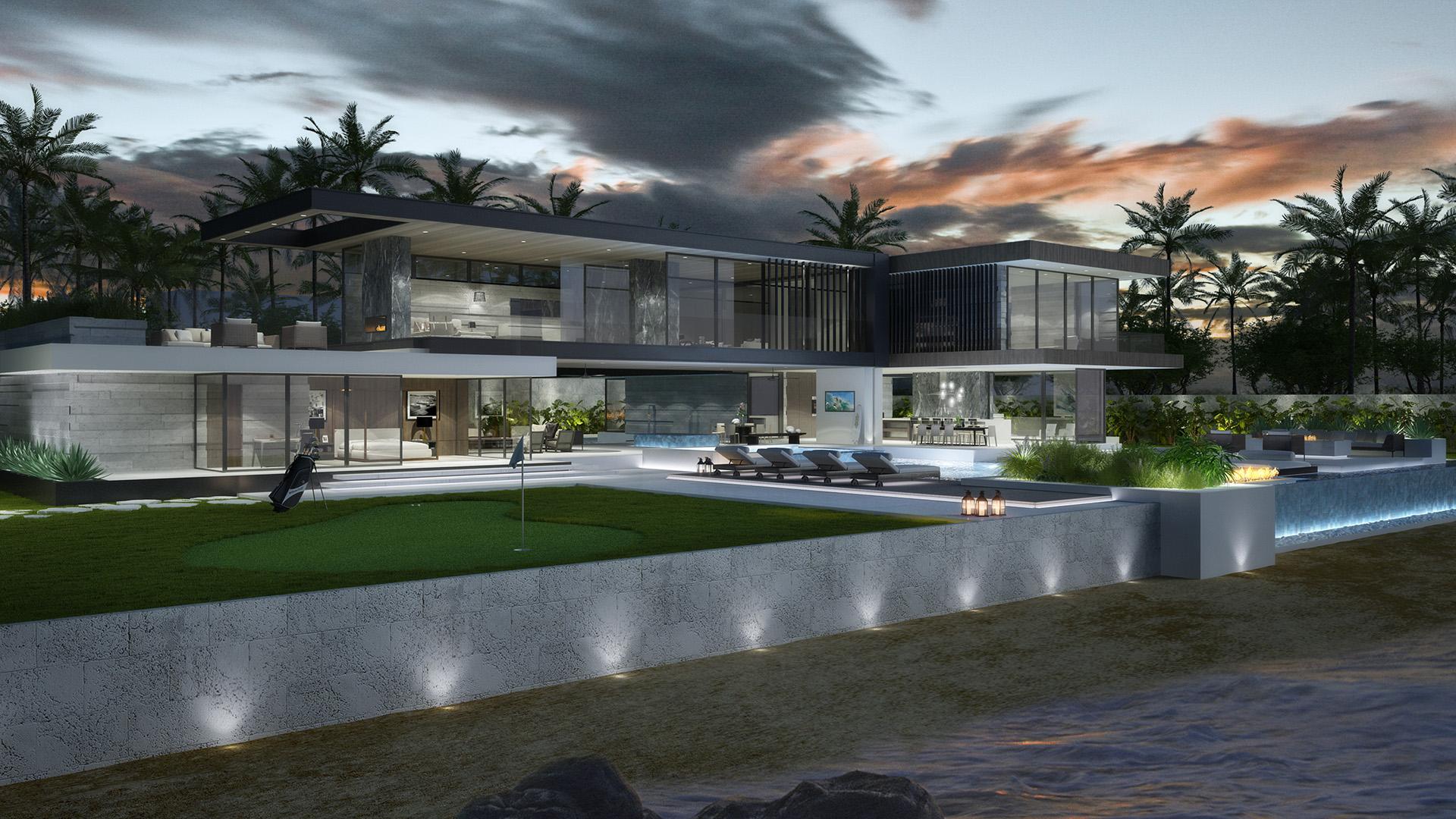 Beach House Los Angeles Visualisation